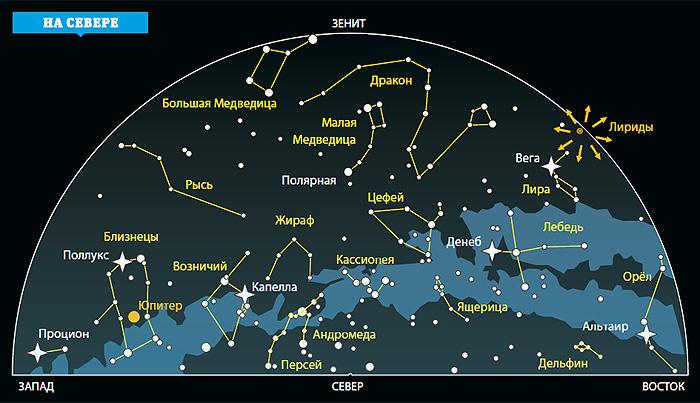 Фото №1 - Ночное небо: на что посмотреть в апреле