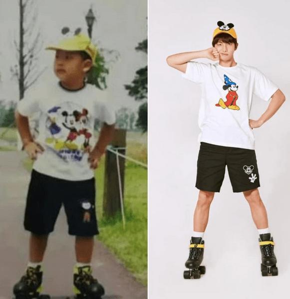 Фото №5 - Милота дня: BTS воссоздали свои детские фотографии