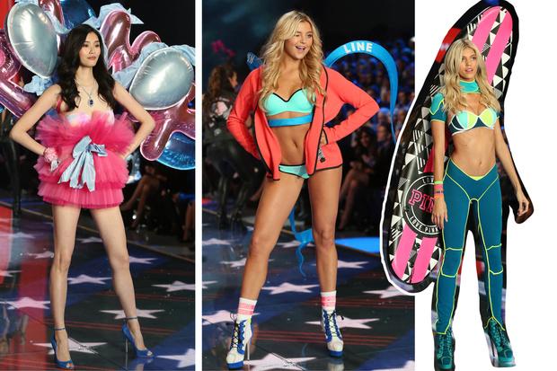 Фото №13 - Самые красивые образы с показа Victoria's Secret