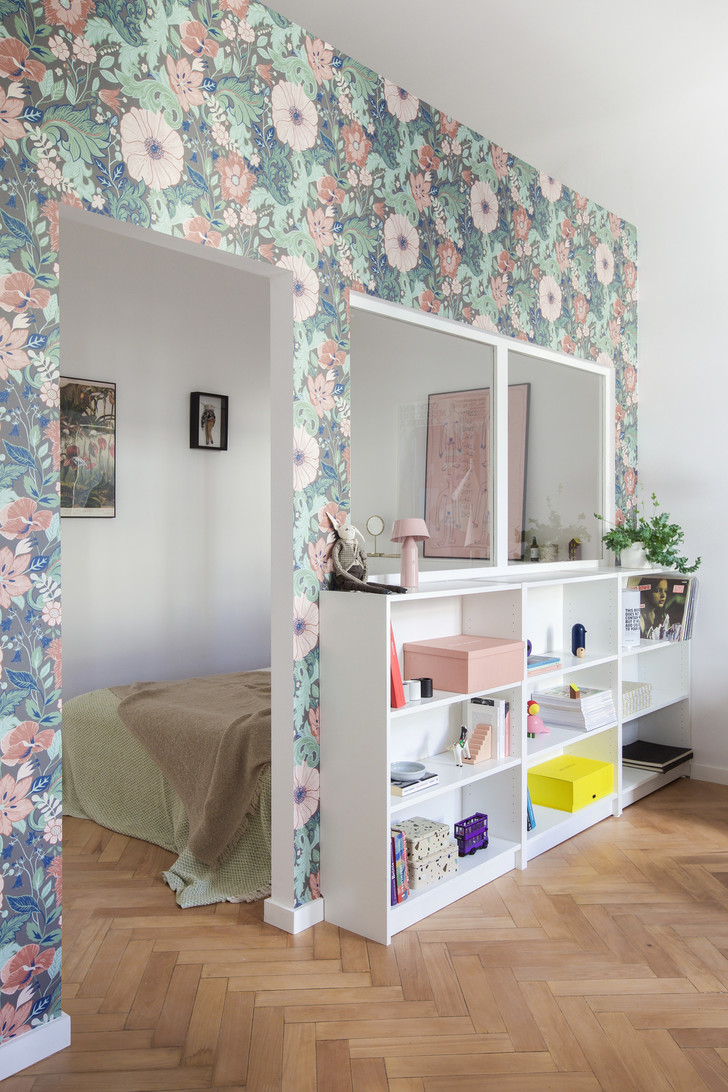 Фото №6 - Маленькая квартира в розовых тонах в Варшаве