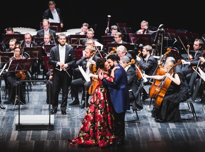 Фото №3 - Состоялся концерт Анны Нетребко и Юсифа Эйвазова при поддержке Chopard
