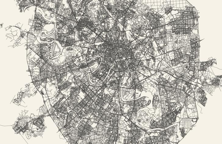 Фото №2 - Сайт дня: преврати свой город в карту, на которой будут только дороги