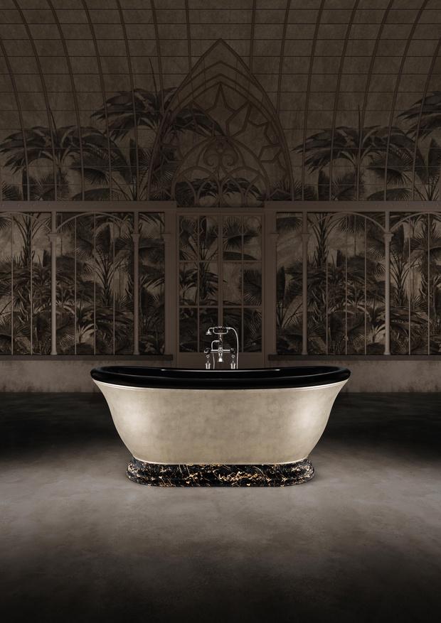Фото №1 - Уникальная ванна Aurora30к юбилею Devon & Devon