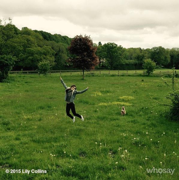 Фото №15 - Звездный Instagram: Знаменитости на лужайке