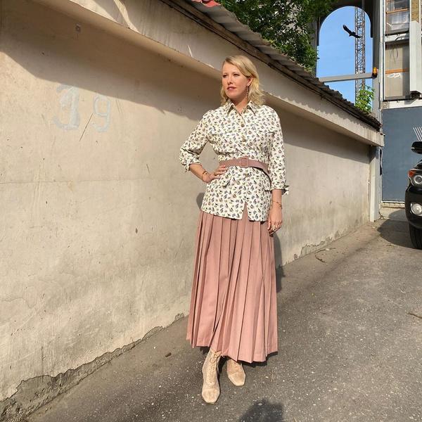 <p>Ксения Анатольевна встретилась с коллегой Марией Бароновой</p>