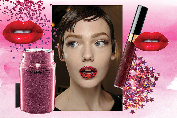 Фото №10 - 6 способов использовать глиттер в новогоднем макияже