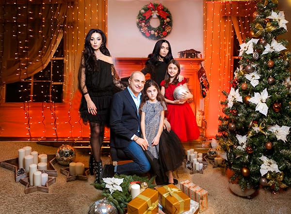 Новый год Михаил Борисович встретит в кругу семьи