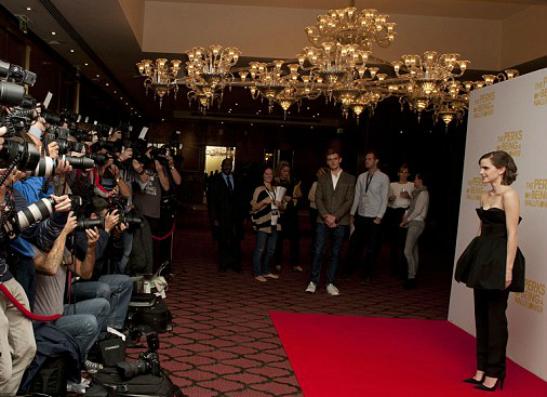 Фото №2 - Эмма Уотсон на премьере «Хорошо быть тихоней» в Лондоне
