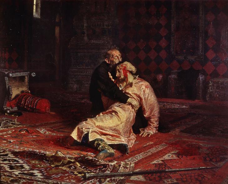 Фото №1 - 435 лет назад… Иван Грозный убил сына