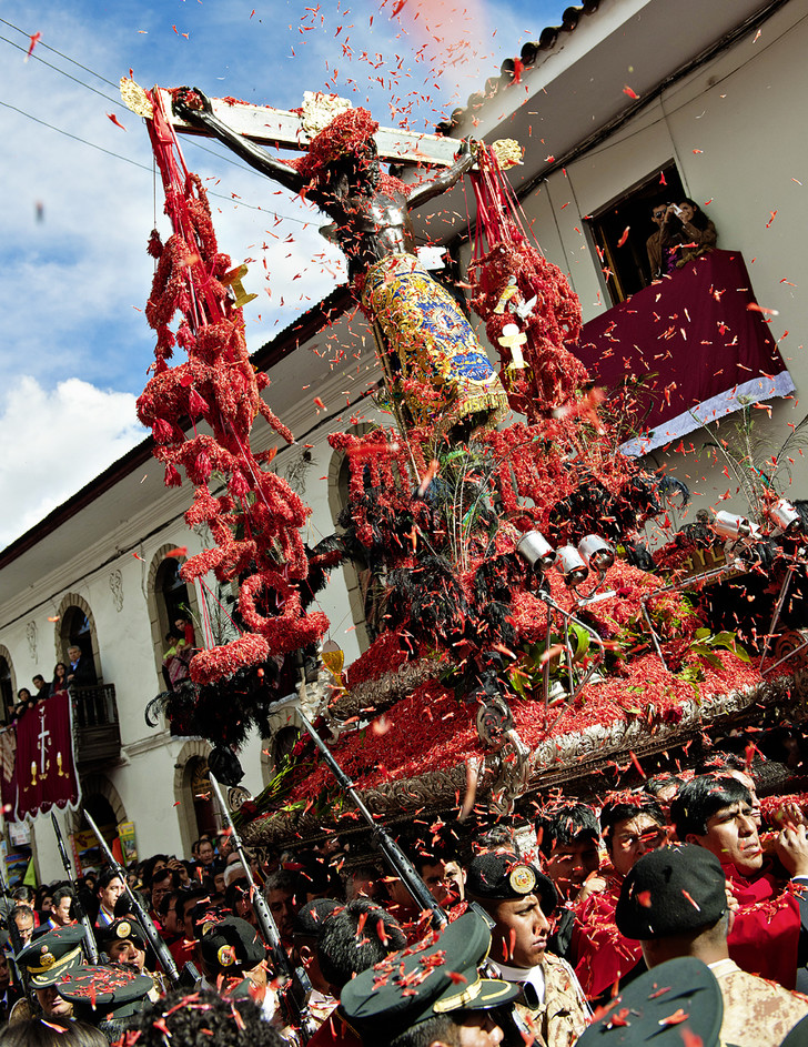 Фото №1 - Традиции: Сеньор де лос Темблорес, Перу