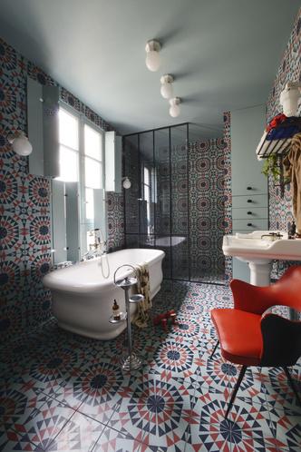 Фото №7 - Парижская квартира для творческой пары с двумя детьми