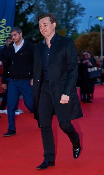 Сергей Безруков на Первом Уральском фестивале российского кино - 2016, фото