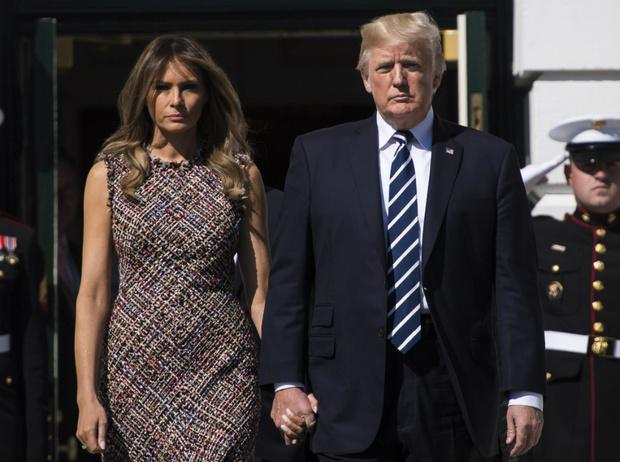 Фото №1 - Гнев Первой леди: какой поступок Дональда Трампа вывел Меланию из себя