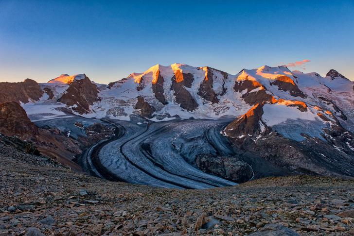 Фото №1 - Швейцарские Альпы продолжают расти