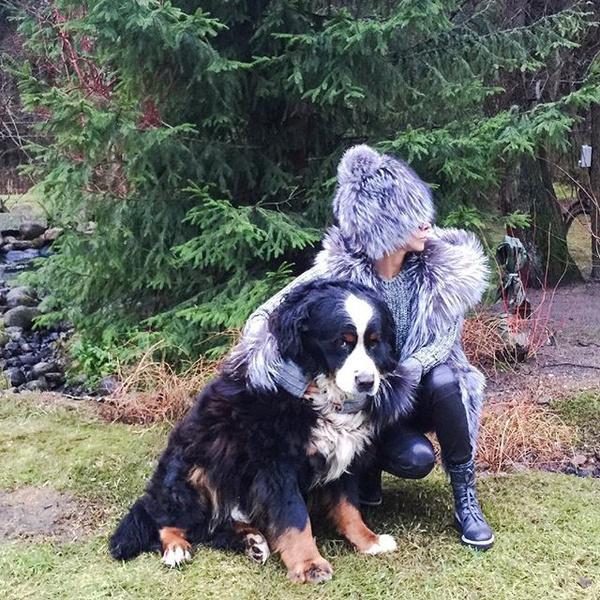 Фото №24 - Домашние животные звезд: собаки, кошки, лемуры, свиньи и даже улитки!
