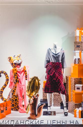 Фото №8 - Леопардовый бум в осенних витринах ЦУМа