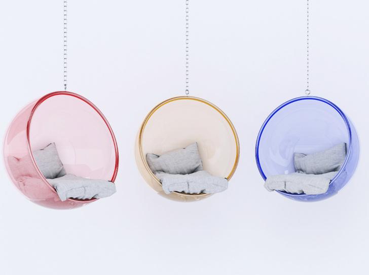 Фото №3 - Подвесное кресло как часть интерьера: советы дизайнеров