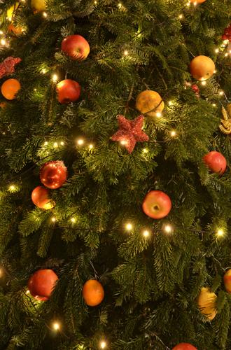 Фото №6 - Елки, палки, мандарины: как украшают новогодние деревья в разных странах мира