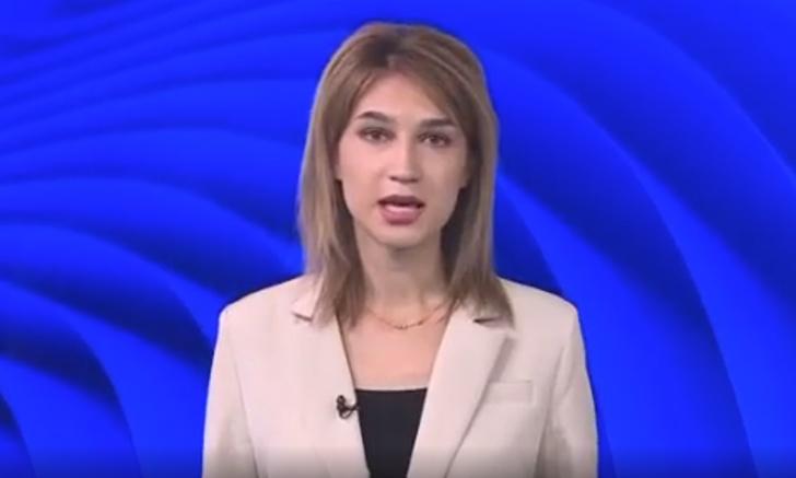 Фото №1 - Ведущая прогноза погоды из Башкортостана ведет эфир с широко расставленными ногами (видео)