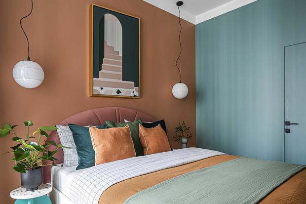 Фото №1 - Акцентная стена в спальне: 6 идей оформления