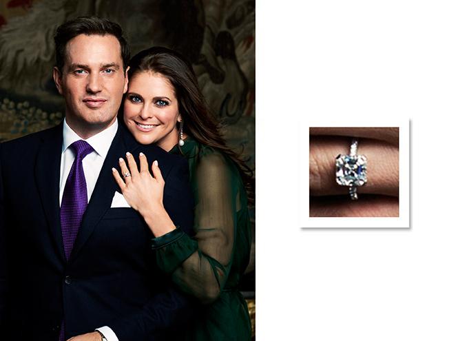 Фото №8 - Скажи «да!»: помолвочные кольца европейских принцесс и королев