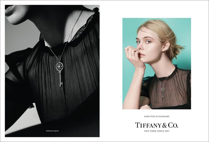 Фото №1 - Эль Фаннинг и Люпита Нионго в новой осенней кампании Tiffany&Co
