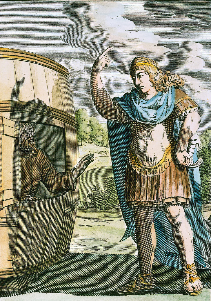 Фото №1 - Ищу человека: 8 мифов о Диогене