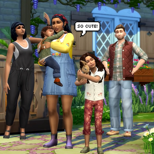 Фото №1 - Скорее качай: новое дополнение «Sims 4: Загородная жизнь» уже доступно ✨