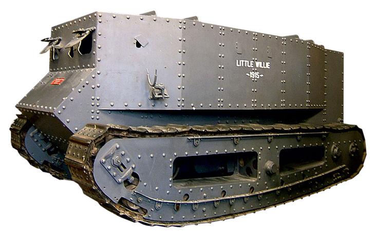 Фото №1 - 100 лет назад… изобрели танки