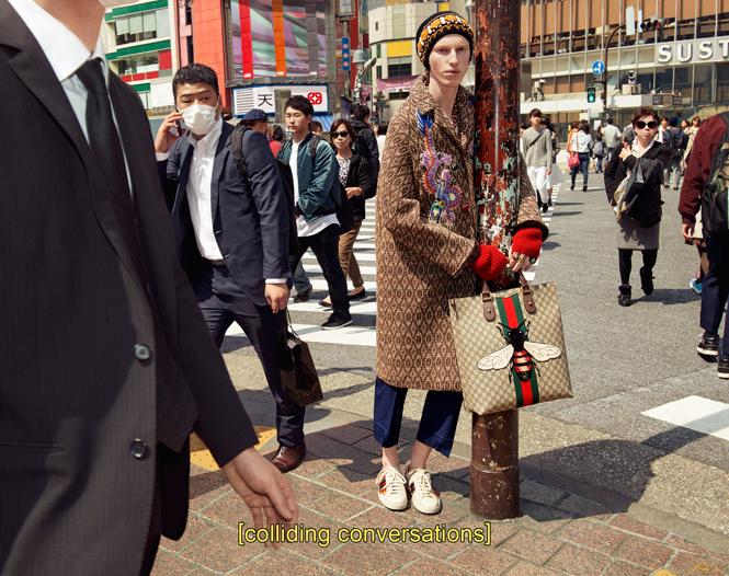 Фото №15 - Японское приключение Петры Коллинс и Ко: новая кампания Gucci