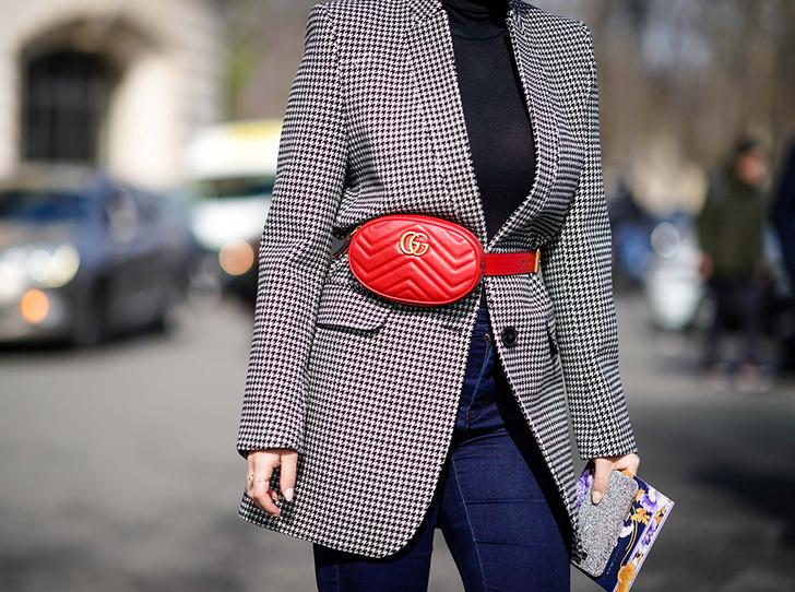 Фото №35 - Акцент на талии: как поясная сумка стала такой популярной