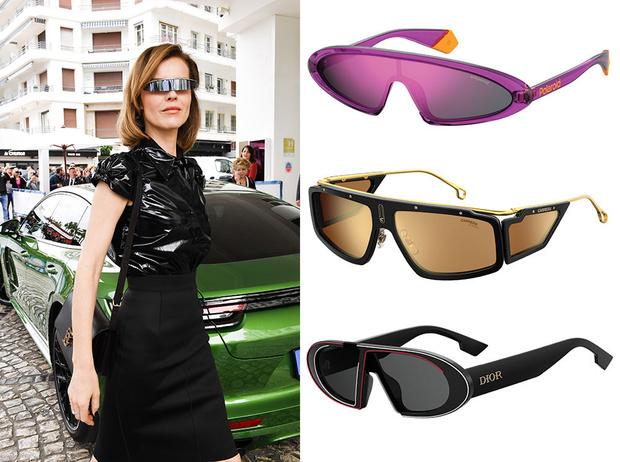 Фото №2 - Какие солнцезащитные очки носят актрисы, дизайнеры и монаршие особы