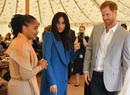 В Сети появились неизвестные фото принца Гарри и герцогини Меган с прошлого Рождества