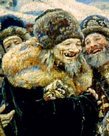 Фото №9 - 16 символов, зашифрованных в картине «Боярыня Морозова»