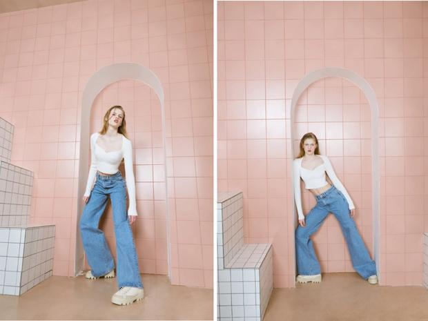 Фото №5 - У каких марок искать джинсы для высоких девушек?