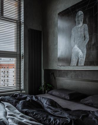 Фото №9 - Брутальная квартира 43 м² для любителя острых ощущений