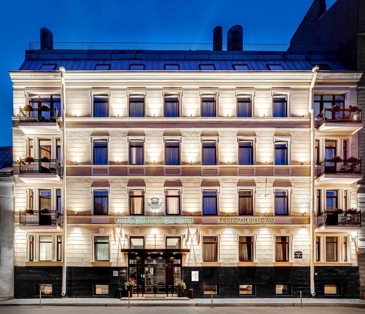 Фото №1 - Отель Dom Boutique Hotel в особняке XIX века в Санкт-Петербурге
