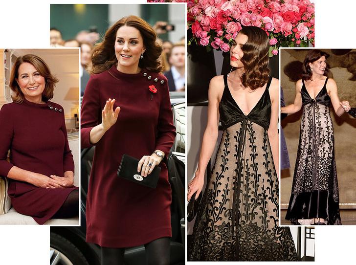Фото №1 - Модный реверанс: принцессы и королевы в нарядах своих мам и свекровей
