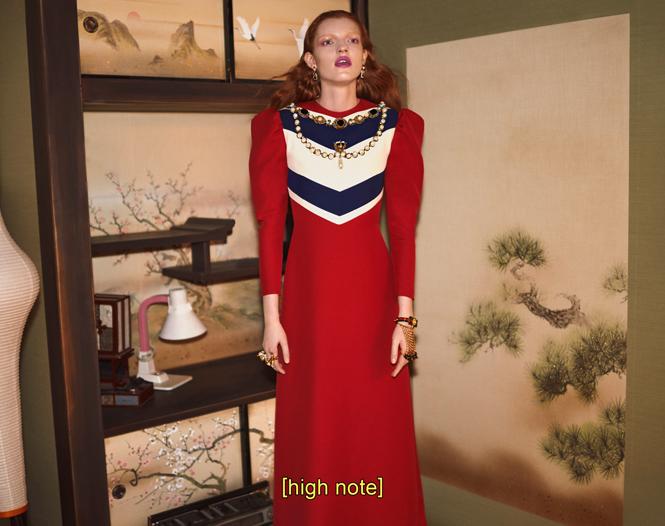 Фото №4 - Японское приключение Петры Коллинс и Ко: новая кампания Gucci