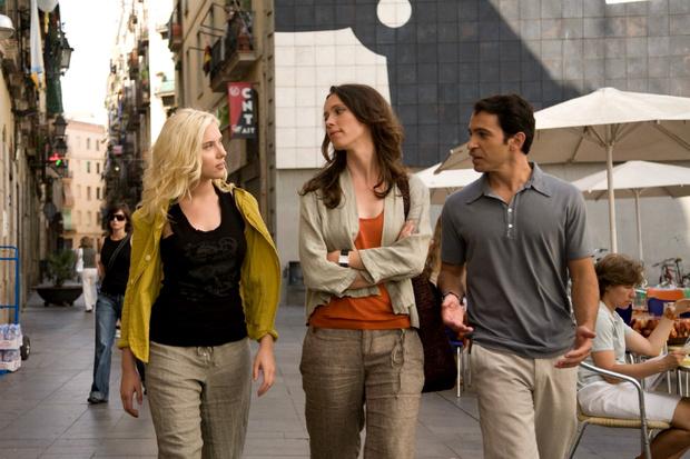 Кадр из фильма «Вики, Кристина, Барселона»
