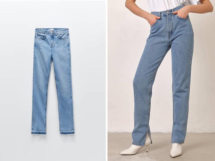 Фото №6 - Три актуальные модели джинсов, которые идут всем