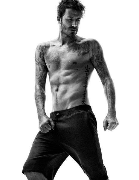 Фото №2 - Дэвид Бекхэм показал больше тела в лукбуке H&M