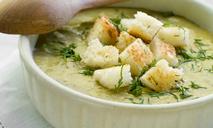 Крем-суп из баклажанов