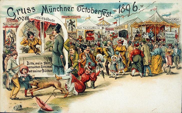 Фото №3 - Как 210 лет назад возник Октоберфест