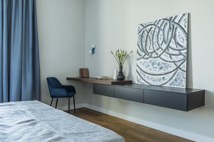 Фото №9 - Минималистичный интерьер в теплых тонах для двухкомнатной квартиры