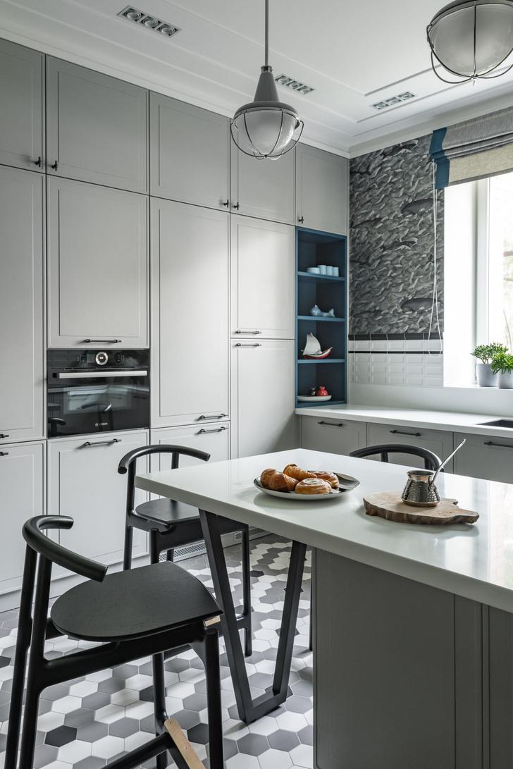 Фото №2 - Обои в интерьере кухни: идеи и решения
