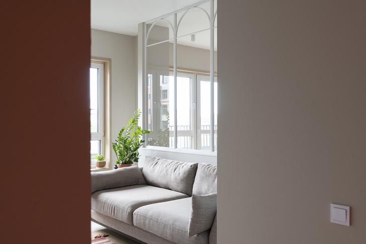 Фото №7 - Квартира с окном между комнатами в Москве