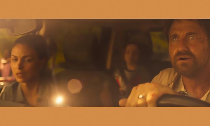 Фото №1 - Баккарин и Батлер в фильме-катастрофе «Гренландия» (трейлер)