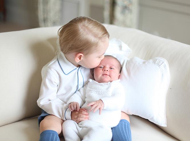 Фото №5 - Принцесса Шарлотта Кембриджская: первый год в фотографиях