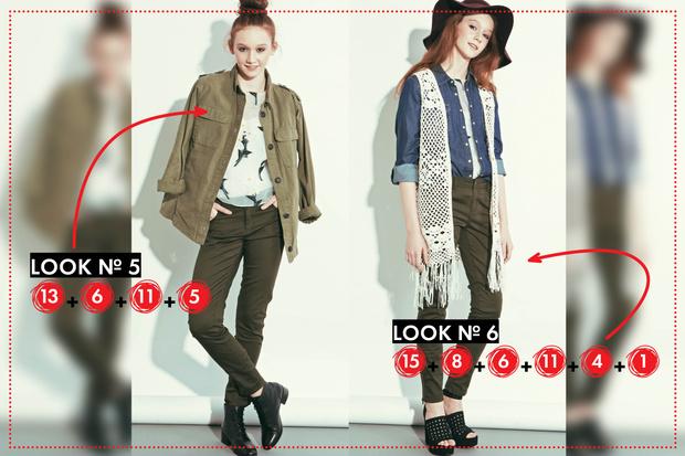 Фото №5 - Fashion-конструктор: как из 16 вещей составить 8 образов